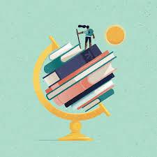 Boekenzoeker in de bib
